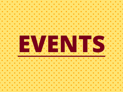 Check out our events!